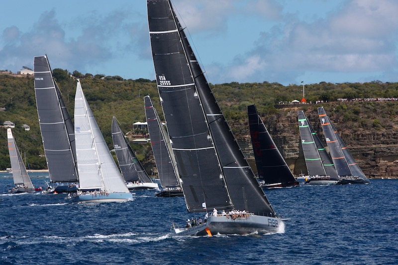 The start of the IRC Zero and IRC Canting Keel class - Photo RORC/Tim Wright