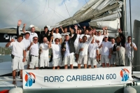 ICAP Leopard's Crew after finishing the race