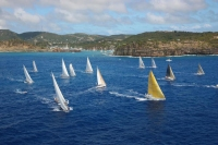 Caribbean 600 Fleet in Antigua