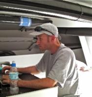 Beau Geste navigator, Tom Addis