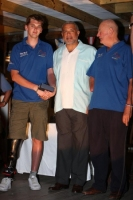 The Honourable John McGinley with BLESMA crew. Photo: Tim Wright, photoaction.com