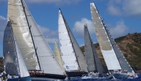 Picture of the start line of the 2010 RORC Caribbean 600 Race