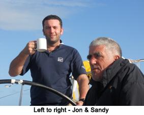 2011 RC600 Spirit of Athena Crew members Jon and Sandy