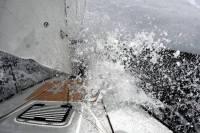 Class40 Vaquita surfing across the Atlantic. Photo: Christof Petter