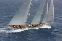 The 183' schooner Adela. Photo: RORC/Tim Wright photoaction.com
