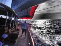 On Board Athos. Photo: Miles Seddon