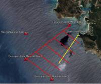 2013 RORC Caribbean 600 On the Water Spectator Exclusion Zone