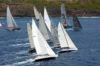 IRC Z fleet start 2013. Copyright Tim Wright