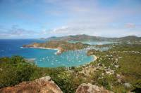 The stunning view on Antigua. Photo: RORC/Tim Wright photoaction.com