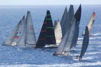 Spectacular start for IRC Zero. Credit: RORC/Louay Habib