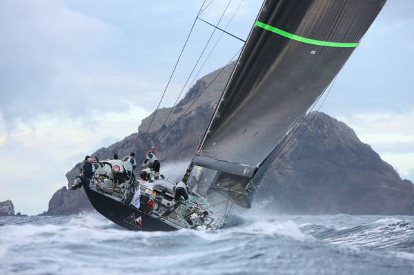 Overall runner-up in two editions of the RORC Caribbean 600. Hap Fauth's Maxi 72, Bella Mente (USA), aim to make it third time lucky. Photo: RORC/Tim Wright photoaction.com