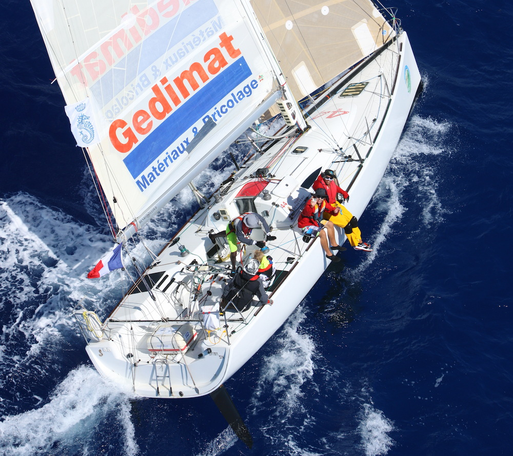 There are four Figaro IIs racing in the RORC Caribbean 600. Credit: RORC/Tim Wright/www.photoaction.com