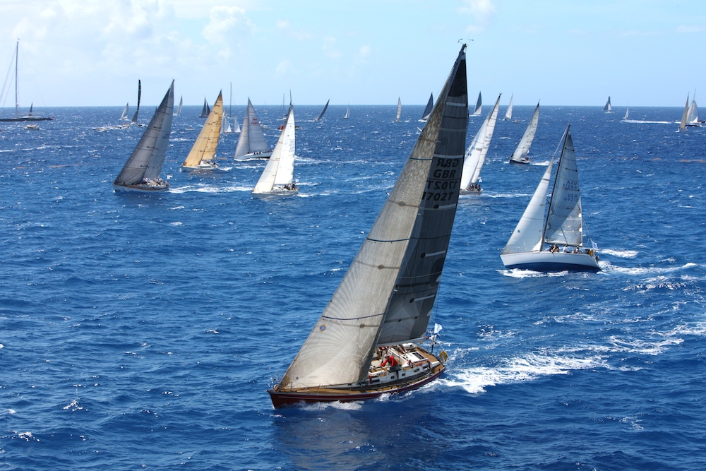 IRC Two and Three start together at the RORC Caribbean 600. Credit: RORC/Tim Wright/www.photoaction.com