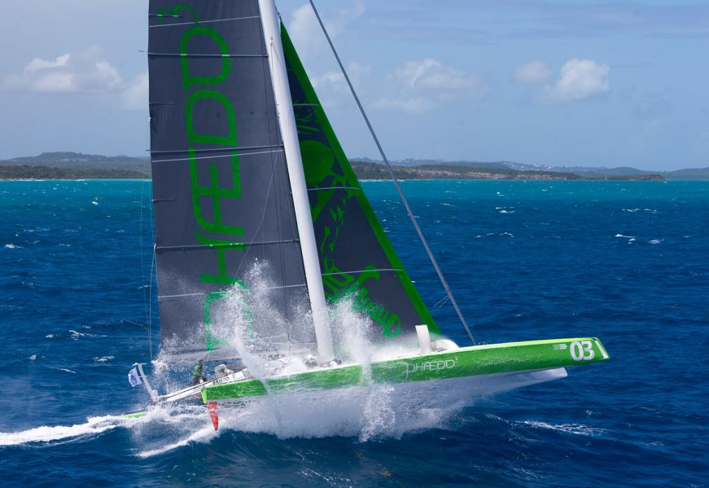Phaedo3, Lloyd Thornburg's MOD 70. Credit: Richard and Rachel/Team Phaedo