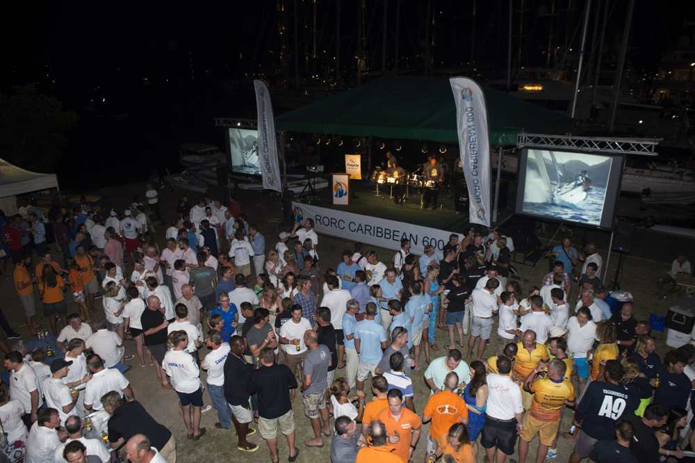 The 2015 RORC Caribbean 600 Welcome Party. Credit: RORC/Ted Martin/www.http://photofantasy.zenfolio.com