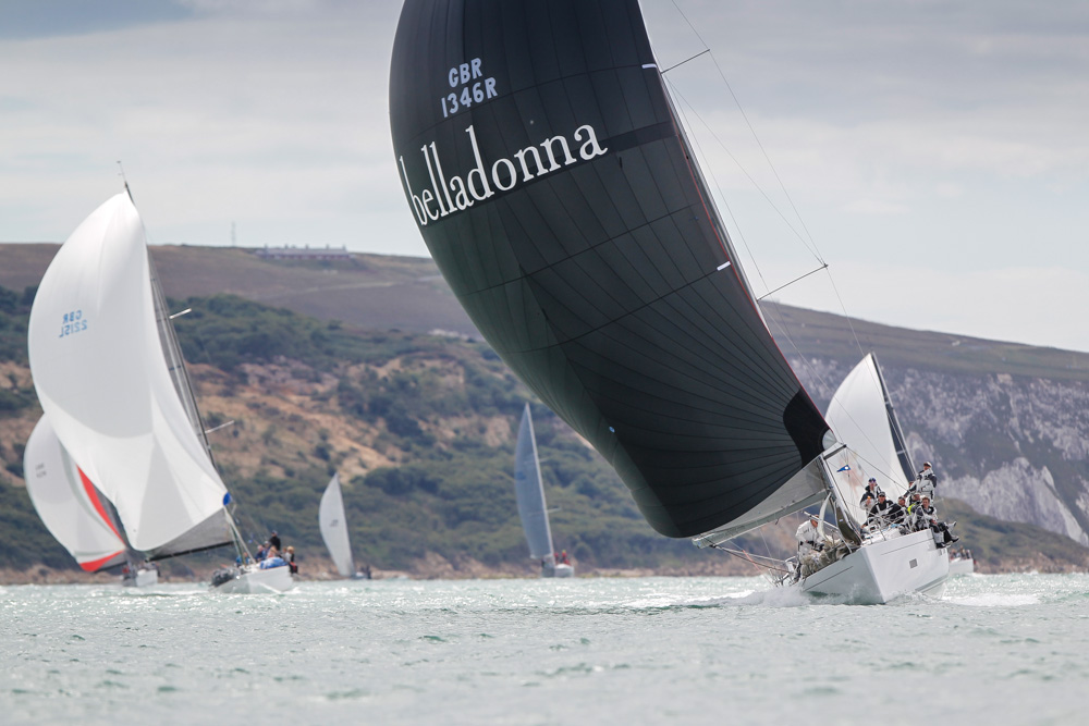 Belladonna racing during the RYS Bicentenial Regatta - photo Paul Wyeth