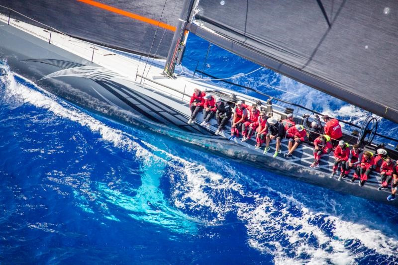 George Sakellaris' Maxi72, Proteus was shipped to the Caribbean by Sevenstar Yacht Transport and went on to win the 2016 RORC Caribbean 600 Trophy for the best time after IRC correction © RORC/Emma Louise Wyn Jones /ELWJ Photography