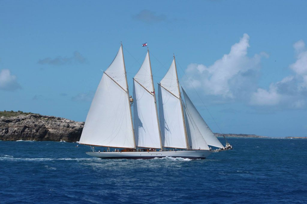 The magnificent 213ft schooner, Adix © RORC/Tim Wright