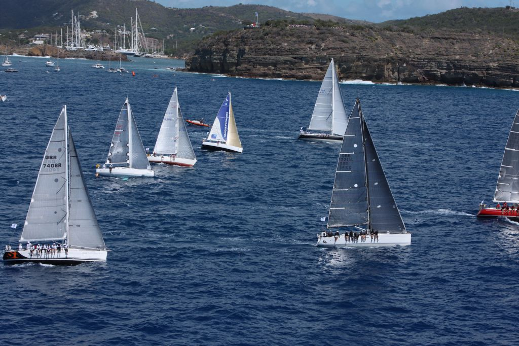 First to start the 2016 RORC Caribbean 600: CSA, IRC 2 and IRC 3 - Credit: RORC/Tim Wright