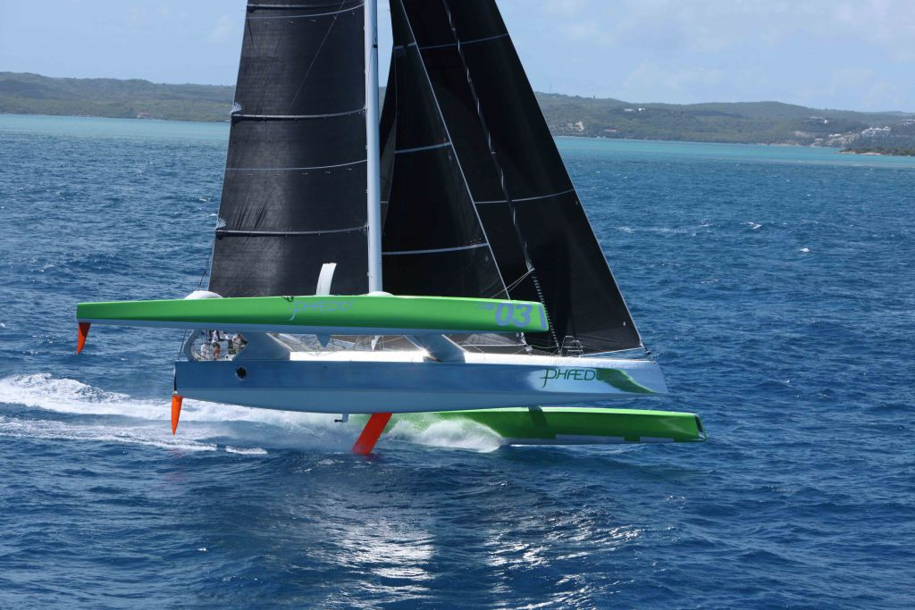 Lloyd Thorburg's Record Breaking MOD70 Phaedo3