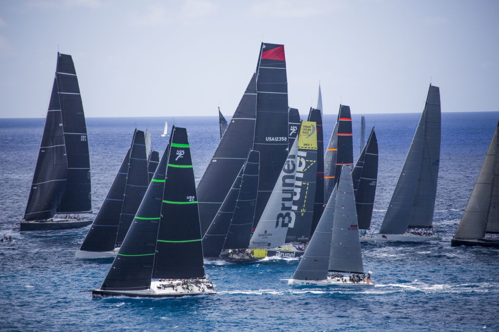 A record fleet is expected for the 9th edition of the RORC Caribbean 600 starting in Antigua on 20th February 2017 © RORC/ELWJ Photography