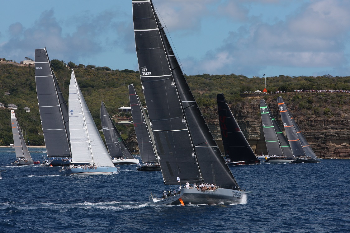 A bumper fleet is expected in Antigua for the 10th edition of the RORC Caribbean 600 © Tim Wright/Photoaction.com