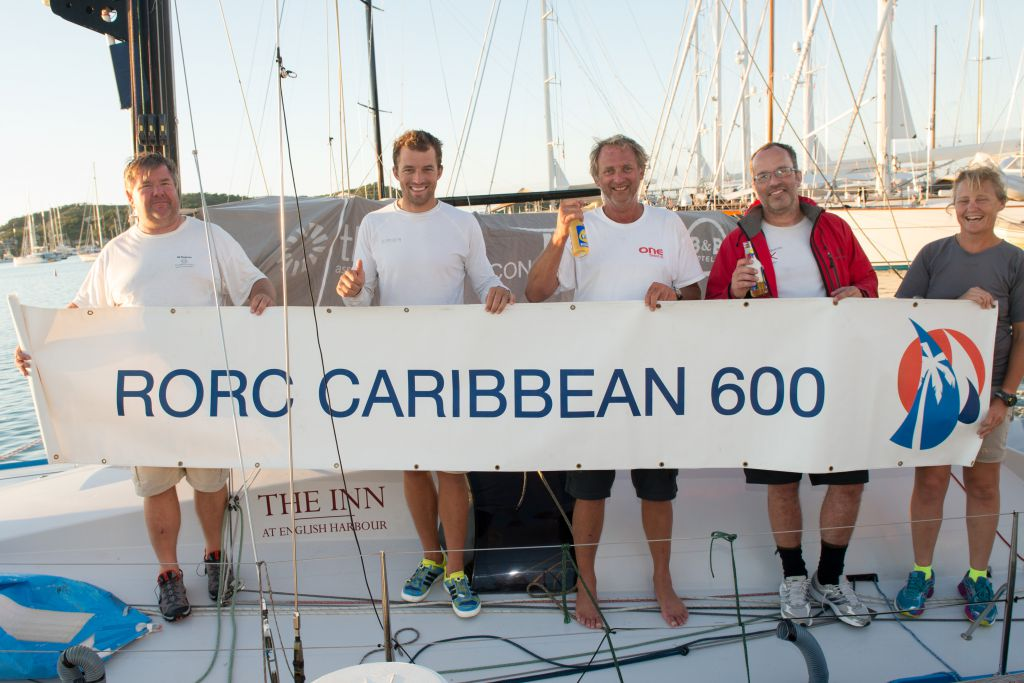 Class40 winner by just 33 minutes, Peter Harding's Ph-orty © RORC/Ted Martin