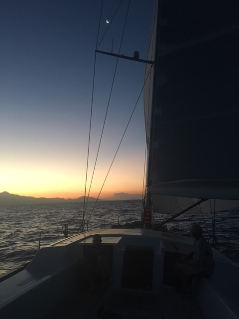 GBR72L Louise approaching Guadeloupe - Photo - Louise