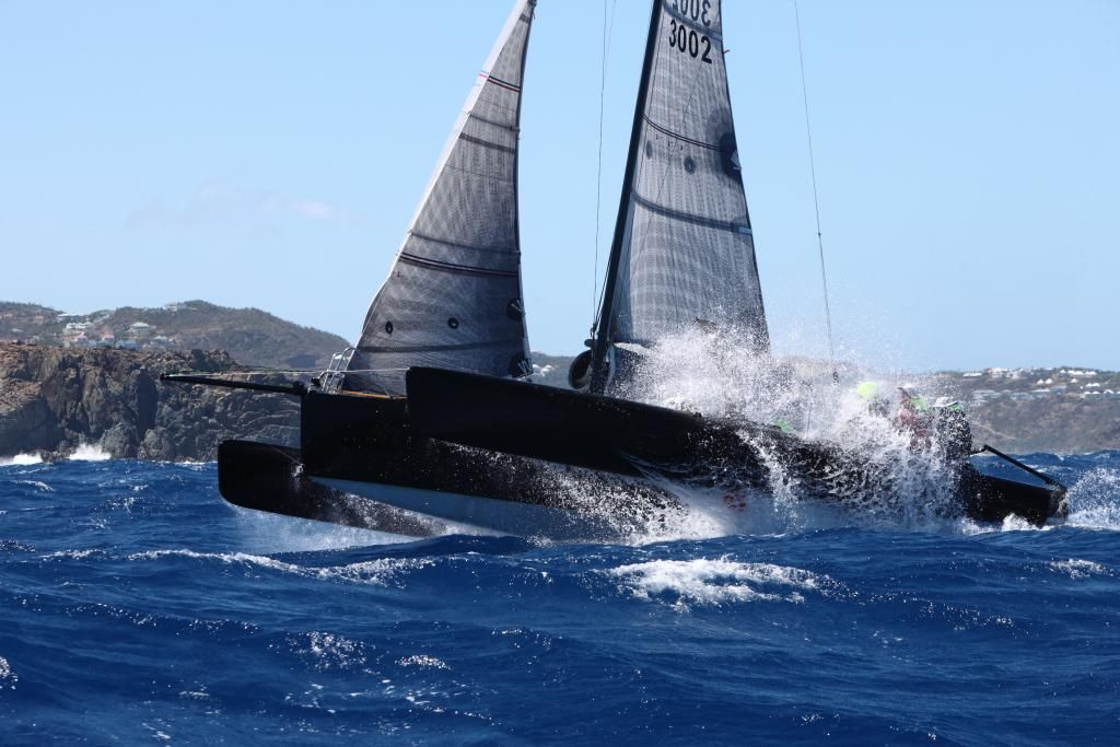 Awe-inspiring achievement for the smallest boat in the RORC Caribbean 600 © RORC/Tim Wright/Photoaction.com