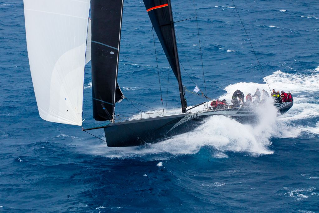 Proteus at the 2018 RORC Caribbean 600 race © Tim Wright/photoaction.com