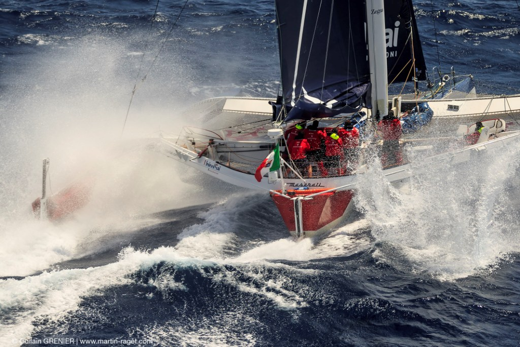 Giovanni Soldini's Multi 70 Maserati (ITA) is hot favourite for Multihull Line Honours in the RORC Caribbean 600 © Guilain Grenier/www.Martin-Raget.com