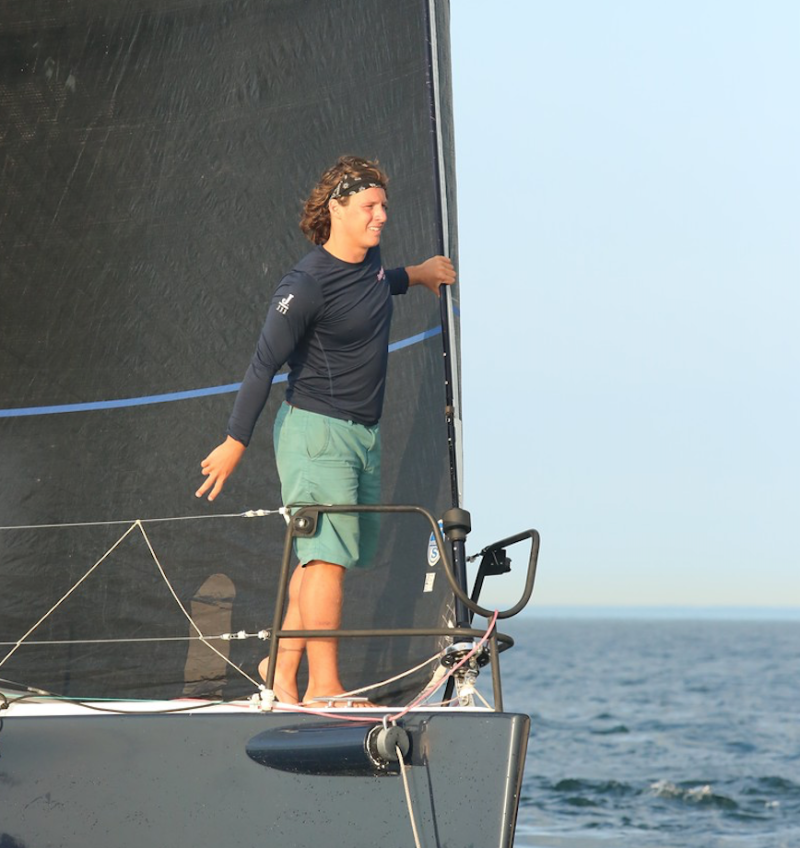 "Alexander 'Firefly' Lulewicz is racing on Jorge Madden's Level 3 Fun: ""When you get the chance to sail with an exceptional team it can be truly magical."""