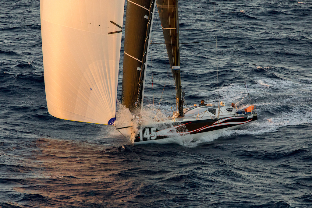 Catherine Pourre's Eärendil has taken Line Honours for the Class40 Division in the 2019 RORC Caribbean 600 © Arthur Daniel
