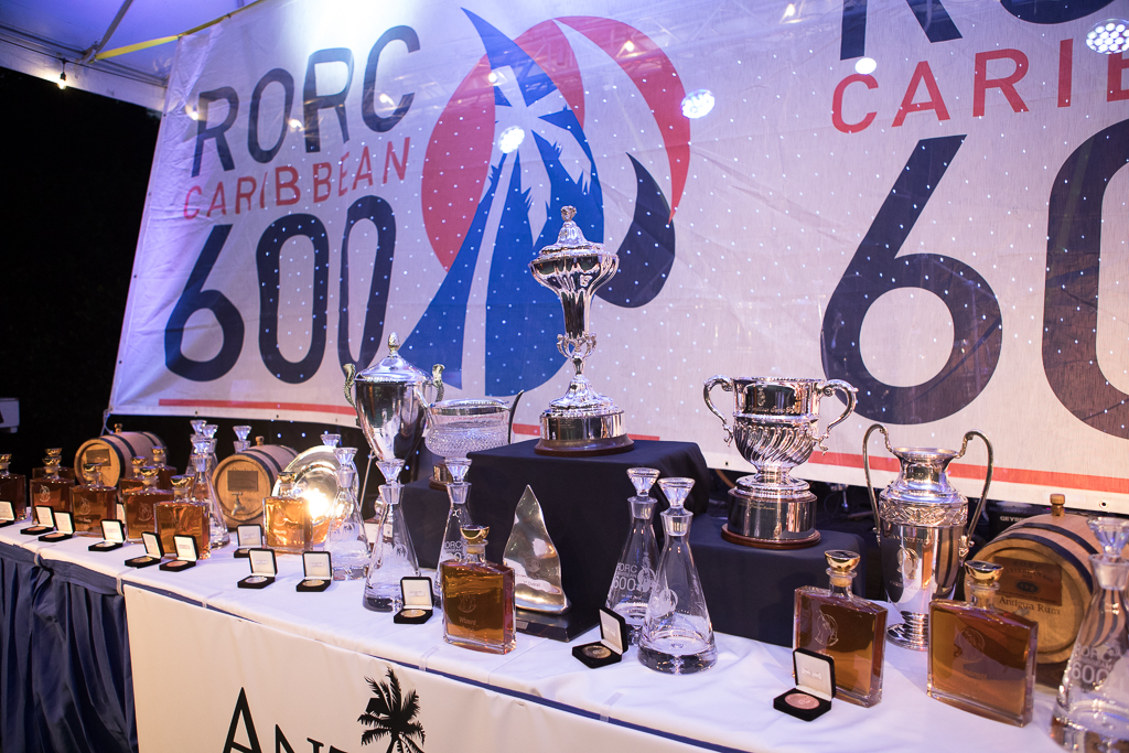 The RORC Caribbean 600 Trophy and an array of prizes await the winners of the race © Arthur Daniel