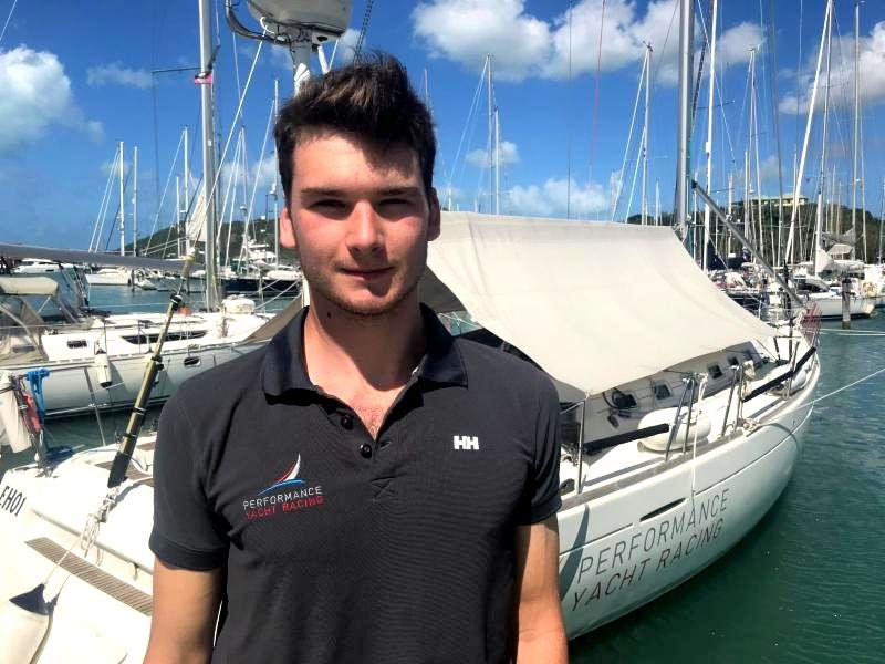 18-year old Greg Williams: From milkround to PYR Traineeship on Performance Yacht Racing's Grand Soleil 43, Quokka 8