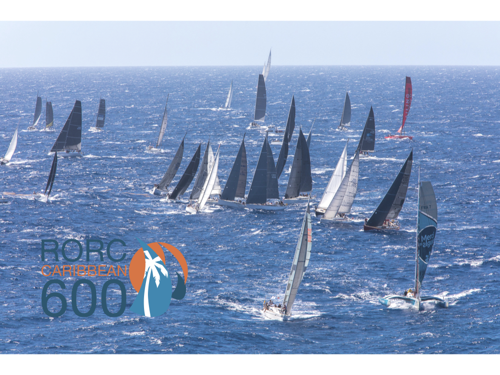 Over 70 boats will be making their way to the startline this year for the 12th edition of the RORC Caribbean 600. Follow the start live on RORC Facebook, track the fleet and check out the website http://caribbean600.rorc.org/ for the Live Blog, news, photos and video from the race course, as well as on RORC social media © Arthur Daniel