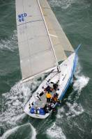 Tonnerre de Breskens during the 2010 Sevenstar Round Britain and Ireland Race. Photo: RORC/Rick Tomlinson