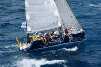 Capstan Sailing's Reflex 38, Intuition, in the 2014 RORC Caribbean 600 Race. Photo: RORC/Tim Wright photoaction.com