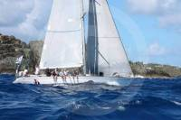 Performance Yacht Charter's Swan 51, Northern Child, in the 2014 RORC Caribbean 600 Race. Photo: RORC/Tim Wright photoaction.com