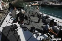 Ran crew preparing the boat for the start of the 2012 RC600