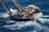 Danilo Salsi's Swan 90 DSK during the 2010 edition of the Caribbean 600 - photo Carlo Borlenghi