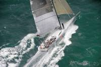 Mike Slade's Farr100 ICAP Leopard during the Sevenstar Round Britain & Ireland Race - photo RORC/Rick Tomlinson