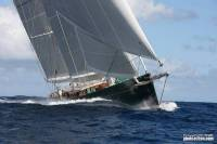 Line Honours Winner of the 2012 RORC Caribbean 600 Hetairos - photo RORC/Tim Wright