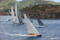 2011 RORC Caribbean 600 start