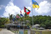 Building of the Antigua Yachtclub