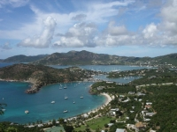 A view over English and Falmouth Harbours, Antigua