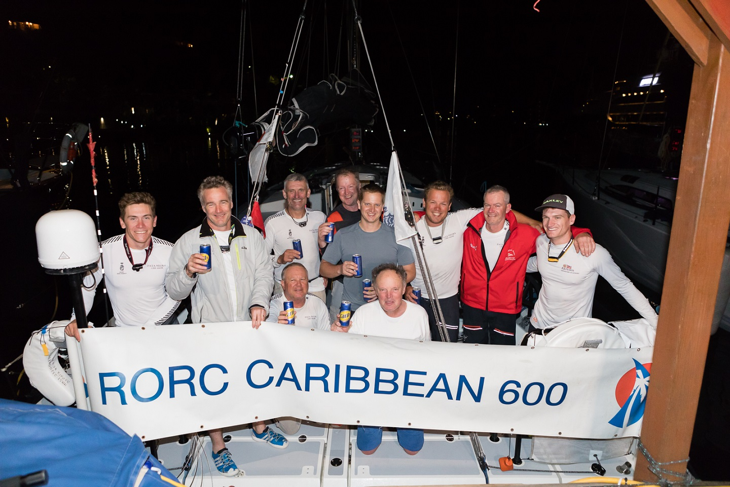 In her 4th RORC Caribbean 600, Giles Redpath's Lombard 46 Pata Negra (GBR) completed the course in an elapsed time of 3 days 14hrs © Arthur Daniel/RORC