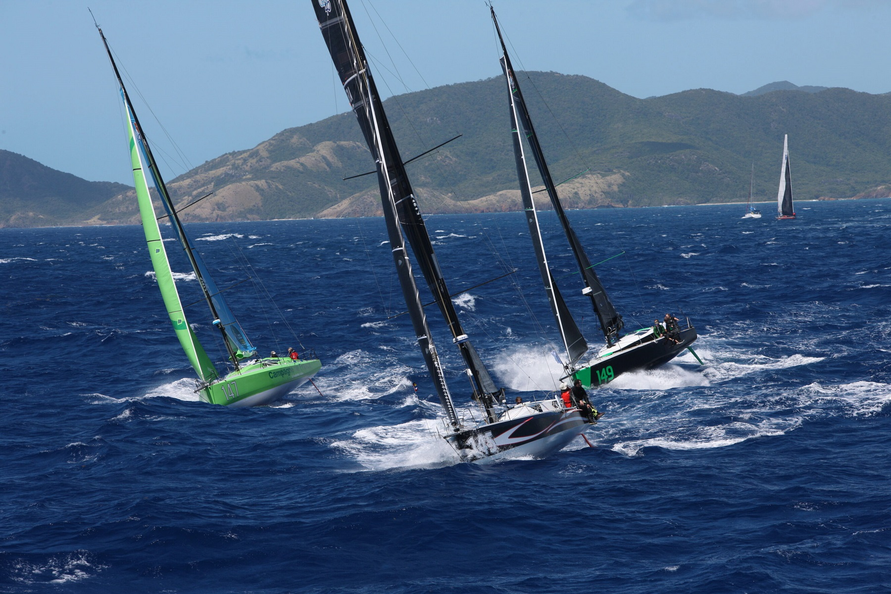 Around 10 Class40s are expected to be on the start line of the 2022 RORC Caribbean 600 © Tim Wright/Photoaction.com