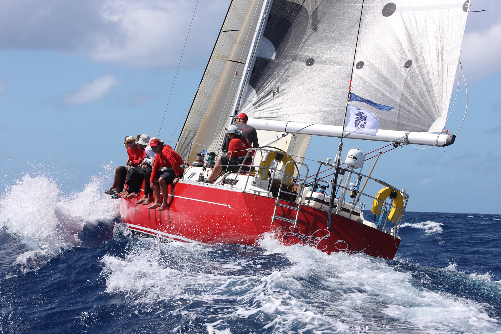Ross Applebey will be competing in his 9th RORC Caribbean 600 with his Oyster 48 Scarlet Oyster © Tim Wright/Photoaction.com